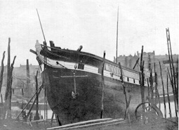 The Launch of The Vencedora